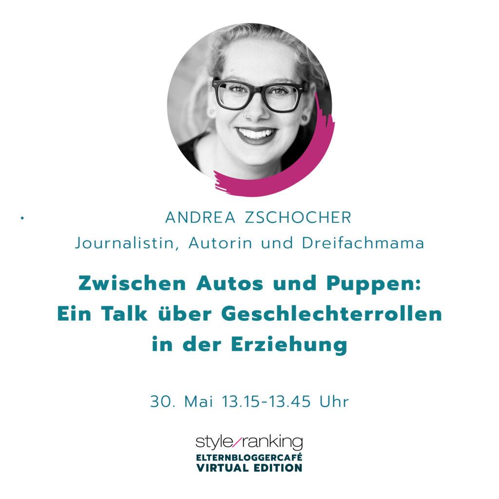 Speakerin Andrea Zschocher